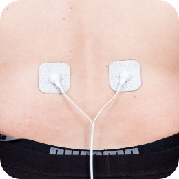 Pain free PAT Electrodes on lower back